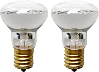 R39 E17 Lava Lamp Replacement Bulb 25 Watt Reflector Type (2 Pack)