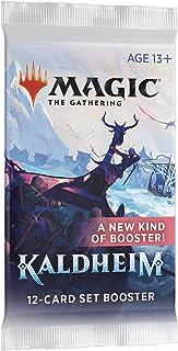 Magic The Gathering: Kaldheim  12 cards   1 Art Card   1 Token or Special Card Magic History   Set Booster Unitário - Inglês