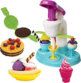 Crayola Dough - Ice Cream Parlor Playset - DIY Playdough Dessert