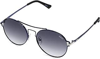 IDEE Gradient Round Women's Sunglasses - (IDS2283C3SG 56 Smoke Gradient FM Color)