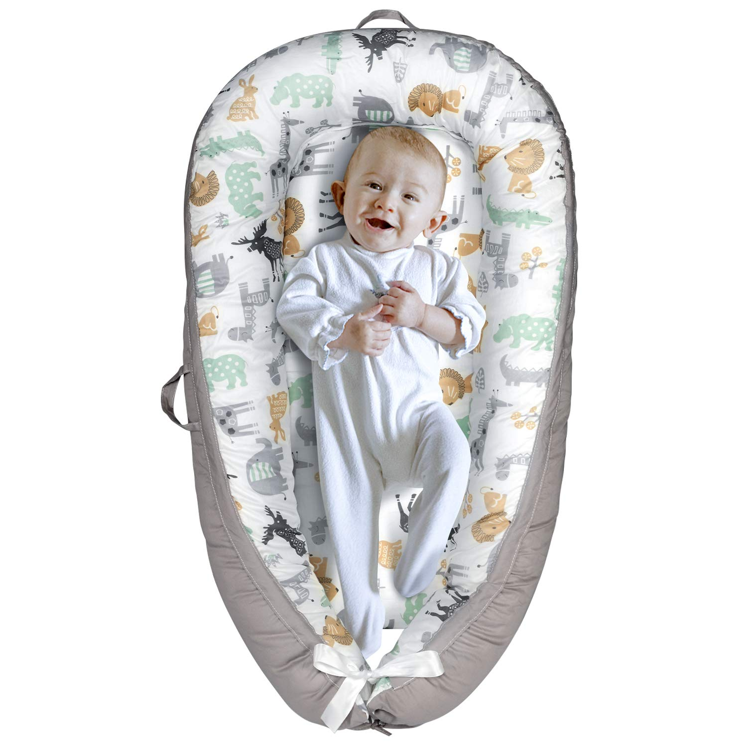 Yoocaa Under blast sales Baby Lounger Max 55% OFF Nest for - Breatha Cosleeping Portable