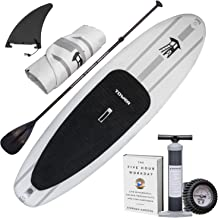 """Tower Inflatable 9'10"""" Stand Up Paddle Board - (6 Inches Thick) - Universal SUP Wide Stance - Premium SUP Bundle (Pump & Adjustable Paddle Included) - Non-Slip Deck - Youth and Adult - Adventure 1"""