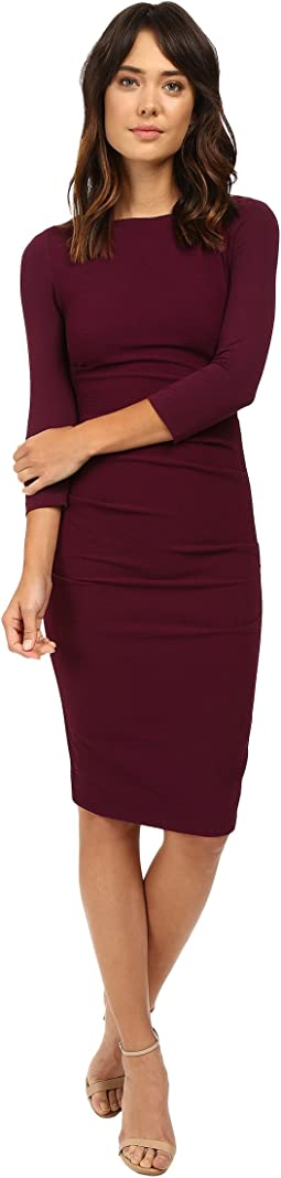 Christina Stretch Pebble Crepe Dress