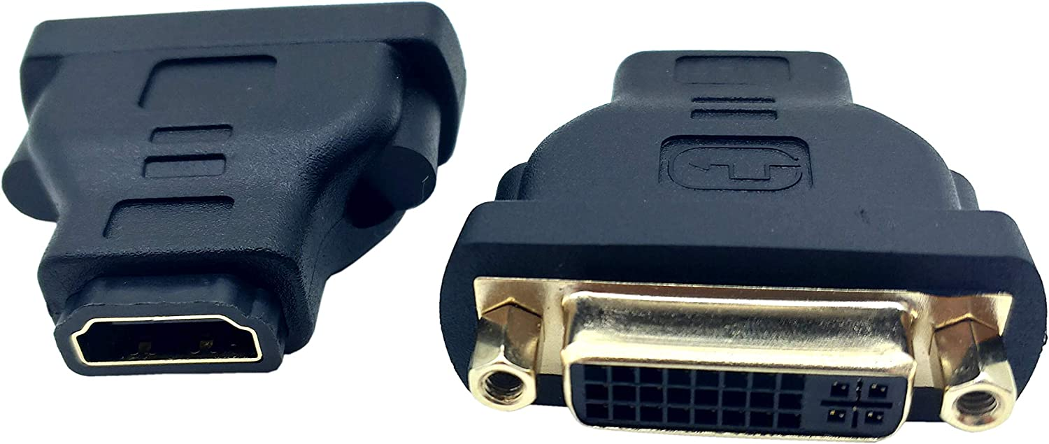HDMI to Max 49% OFF DVI Adapter Traodin Ranking TOP20 1PCS 24+5 F Gold-Plated