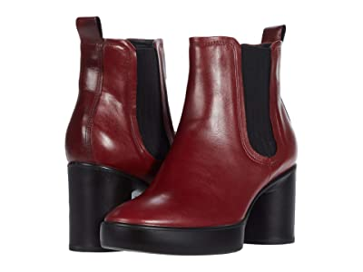 ECCO Shape Sculpted Motion 55 Chelsea Boot (Syrah) Women
