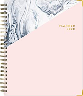 """Blue Sky Stay Chic 2020 Weekly & Monthly, Flexible Cover, Twin-Wire Bound, 7"""" x 9"""", Upstream, 117429"""