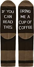 Men Women Novelty Funny Saying Crew Socks If You Can Read This Bring Me Coffee