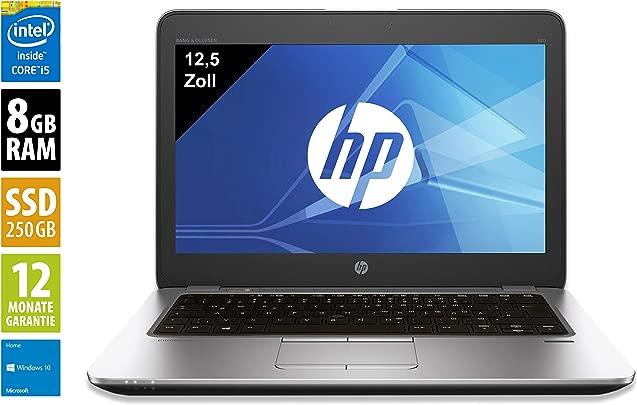 HP Elitebook 850 G3 Notebook Laptop 15 6 Zoll  1920x1080  Intel Core i5-6300U 2 4 GHz 8GB DDR4 RAM 256GB SSD Windows 10 Home  Zertifiziert und General berholt