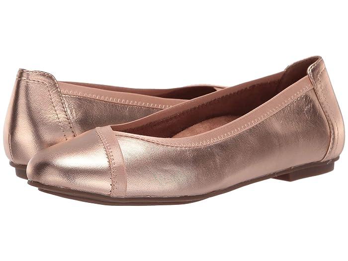 VIONIC  Caroll Metallic (Rose Gold) Womens Shoes