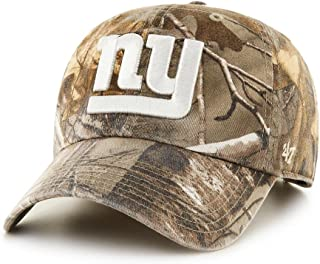9eff9254 '47 Brand New York Giants NFL Realtree Camo Clean Up Cap · '