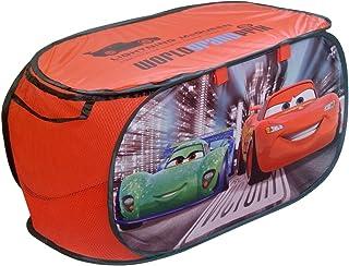 Disney - Coffre à Jouets Panier de Rangement Cars Flash McQueen