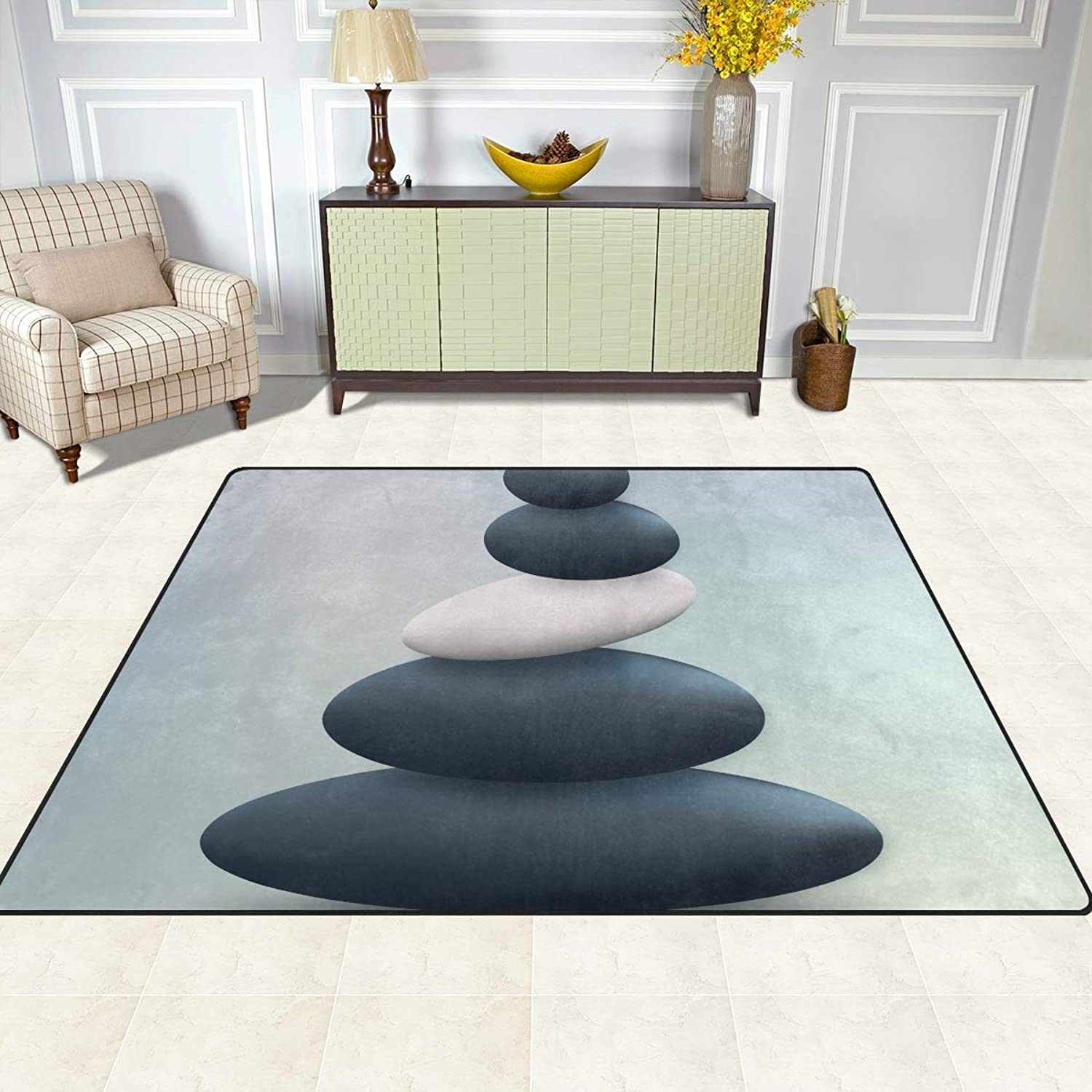 FAJRO Spa Stone Rugs for entryway Doormat Area Rug Multipattern Door Mat shoes Scraper Home Dec Anti-Slip Indoor Outdoor