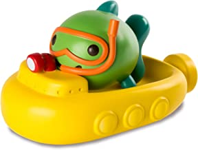 Sago Mini, Fins' Submarine Squirter & Boat Floatie, Bpa & Mold Free Easy Clean Bath Toys, for Ages 1 & Up