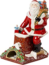 Villeroy & Boch Christmas Toy's Memory Santa on Roof, Multicoloured, 23.5 x 17 x 32 cm, Hard Porcelain, Multi-Colour, One ...
