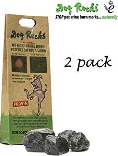 Dog Rocks Prevent Grass Burn Marks, 2 Month Supply