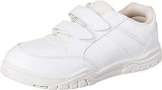 PARAGON Boy's White School Shoes - 8 Kids UK (25.5 EU) (A1PV0029GPWHT00008G499)