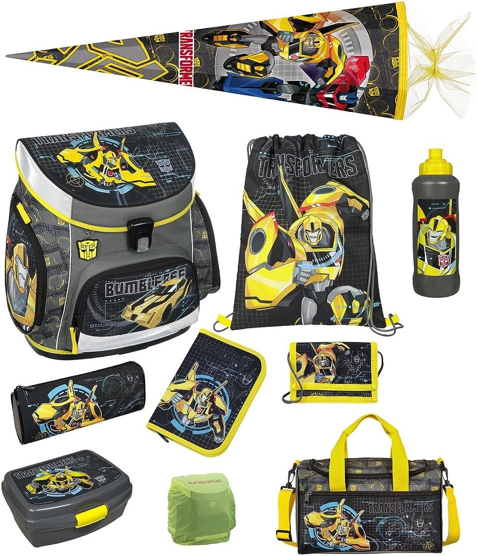 1a2249e99d8a2 Familando Familando Familando Transformers Bumblebee Schulranzen-Set 10  tlg. mit Dose
