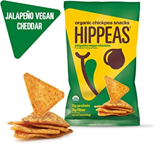 Hippeas, Chickpea Tortilla Chip Jalapeno, 5 Ounce