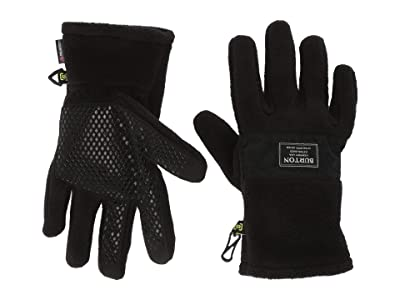 Burton Kids Ember Fleece Gloves (Little Kids/Big Kids) (True Black 2) Extreme Cold Weather Gloves