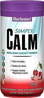 Bluebonnet Nutrition Simply Calm Powder, Cherry Flavored, 16 Ounces