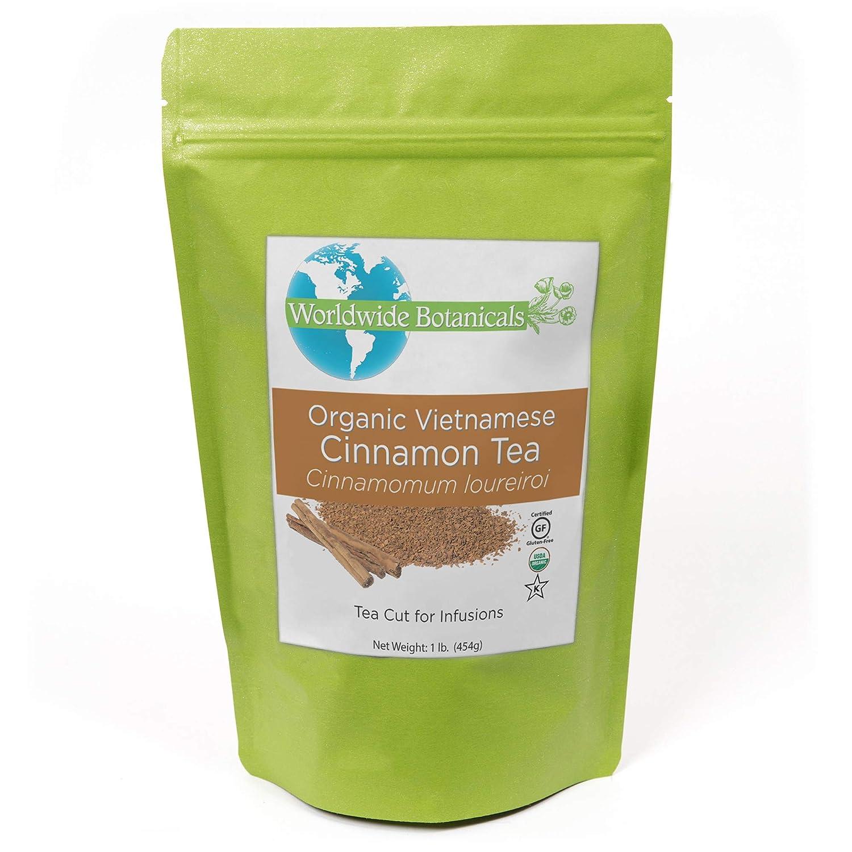 Worldwide Botanicals Direct store Organic Cinnamon Time sale Tea H Leaf - Loose Premium