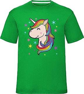 09985fd3c98ec laylawson Enfants Dames Chibi Licorne T Shirt