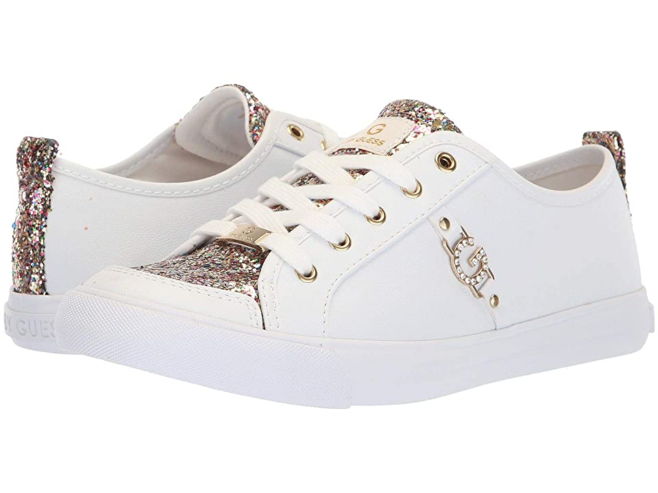 G by GUESS Banx3 (White/Rainbow) Women