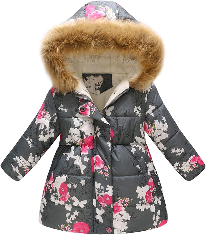 KONF Newborn Baby Coat San Jose Mall Hoodie Girls Kids Winter Cheap mail order sales Snowsuit