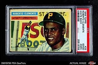 roberto clemente 1956 card