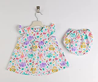 Cotton Dress For Girls From Lumex - Summer