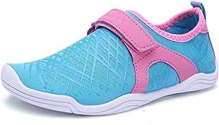 BTDREAM Boy and Girl's Athletic Water Shoes Quick-Dry Slip on Aqua Sock for Beach Pool Swim Surf Walking