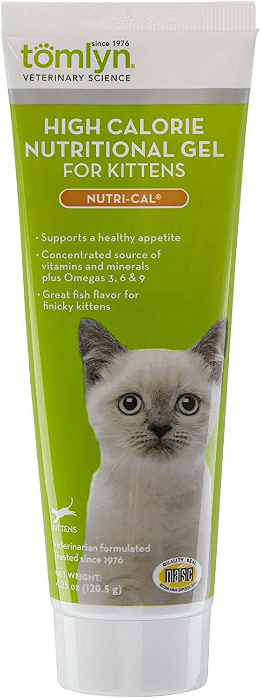 Tomlyn High Calorie Nutritional Gel for Kittens (Nutri-Cal) 4.25 oz : Nutri Cal For Kitten : Pet Supplies