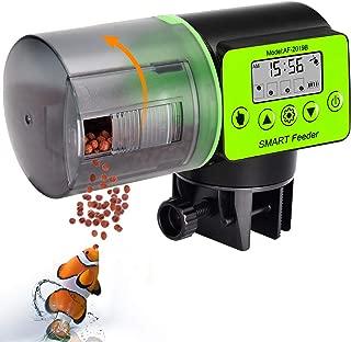 uniwood Automatic Fish Feeder - Digital Auto Fish Feeder, Aquarium Tank Timer Feeder Vacation &Weekend 2 Fish Food Dispenser