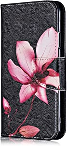 Xiaomi Redmi Case  Bear Village  Painted Pattern Premium Leather Magnetic Wallet Case Cover with Credit Card Slot for Xiaomi Redmi   5 Flower