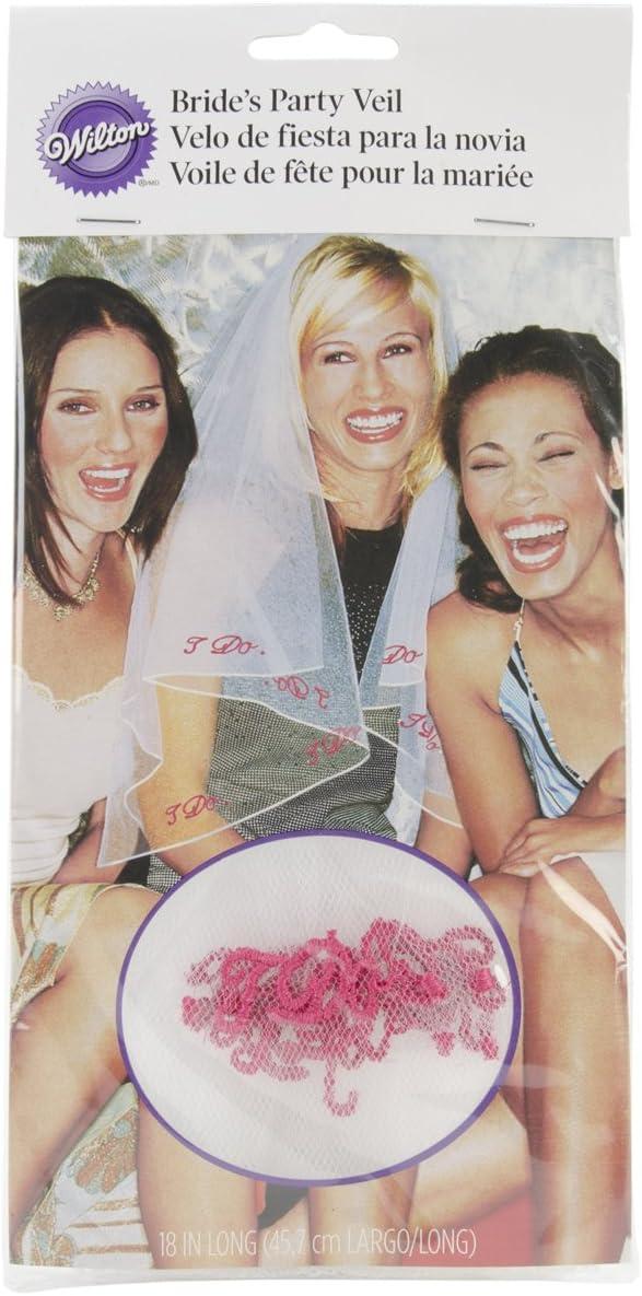 Wilton Bachelorette I Do Wedding Veil