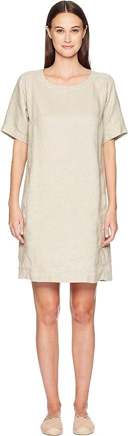 Eileen Fisher Scoop Neck K/L Dress