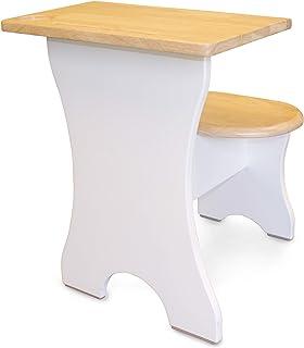 SumSum Kids Desk – The Premium Ergonomic Desks for Children – Solid Havea Hardwood Scandinavian Student Preschool & Toddle...