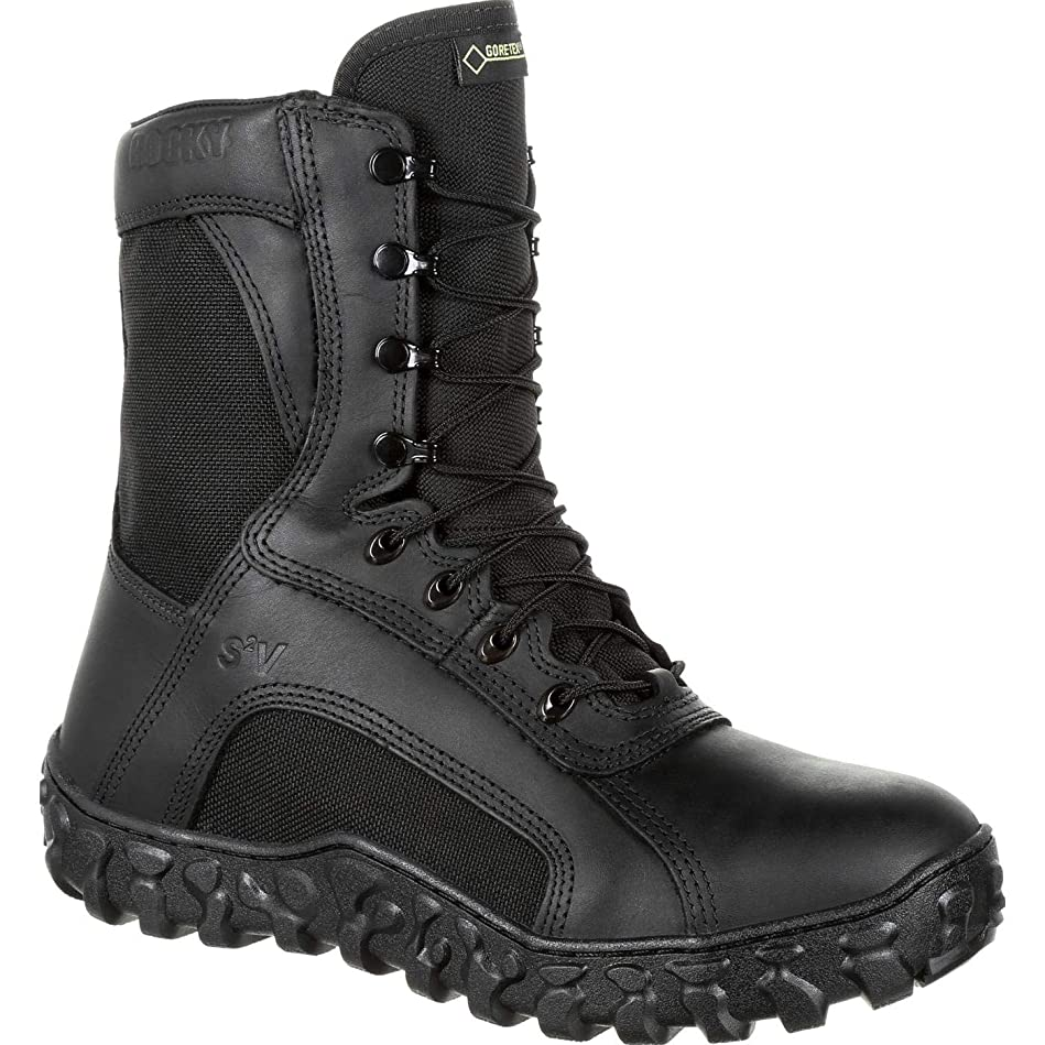 知覚するラリーベルモント感情のRocky Men's 8'' S2V Flight 600g Insulated Gore-Tex Military Boots