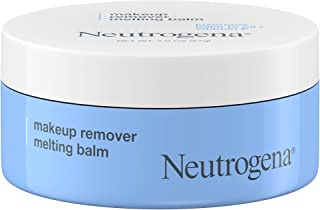 Neutrogena Makeup Remover Melting Balm to Oil with Vitamin E, Gentle and Nourishing Makeup Removing Balm for Eye, Lip, or Face Makeup, Travel-Friendly for On-the-Go, 2.0 oz
