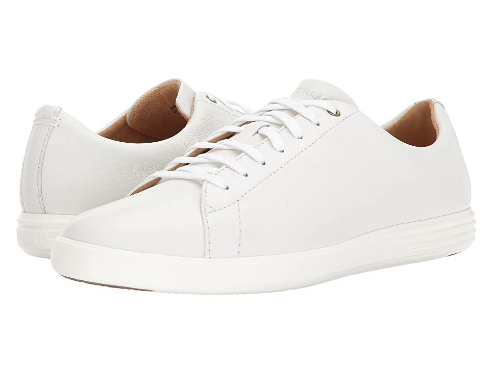 Cole Haan Grand Crosscourt II (White Leather) Men