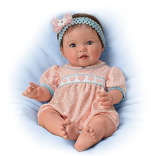 The Ashton-Drake Galleries Lifelike Poseable Baby Doll by Ping Lau: Littlest Sweetheart