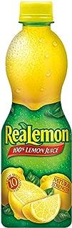 ReaLemon 100% Lemon Juice, 15 Fluid Ounce Bottle (Pack of 12)