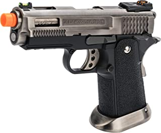 Evike WE-Tech Competition Style Hi-Capa Airsoft Gas Blowback Pistol
