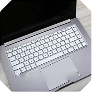 For Xiaomi RedmiBook 16ラップトップAMD Ryzen 4700U 4500U Redmi Book 16.1インチ2020ノートブック用シリコンキーボードカバープロテクタースキン-White-