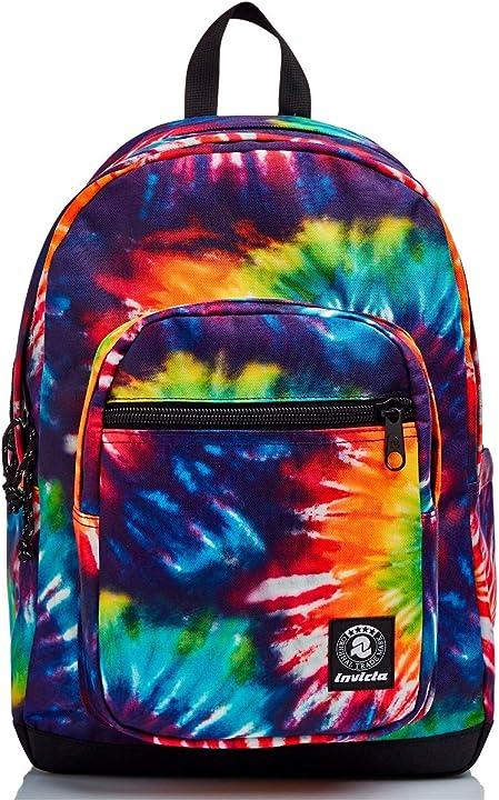 Zaino scuola invicta jelek tie & dye colors 206002055-FX6