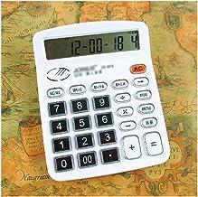 $29 » ZANZAN Calculator Calculator Voice Type Calculators Fashion Pronunciation Small Calculator Business Crystal Button Calcula...