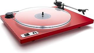 U-Turn Audio - Orbit Plus Turntable with built-in preamp (Red)