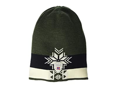 Dale of Norway Geilolia Hat (Dark Green/Off-White/Black) Beanies