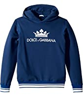 Dolce & Gabbana Kids - Ribbed Hoodie (Big Kids)