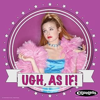 Culturenik Clueless Cher Ugh As If Teen Comedy Movie Film Poster Print (Unframed 12 x 12 Print)